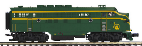 MTH Premier  CNJ (Jersey Central) F-3A-B  diesels, 3 rail,  pwd/non-pwd