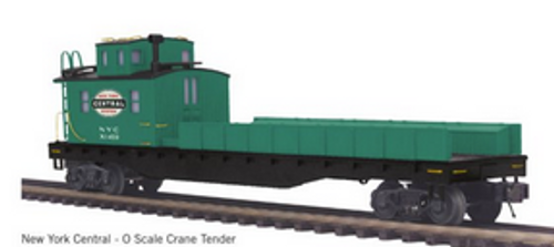 Pre-order for MTH Premier NYC wreck crane and boom tender/tool car,  3 rail