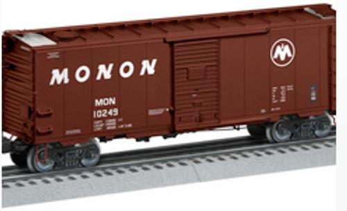 Pre-order for Lionel O  Monon  Grain box car with roof hatches,  3 rail
