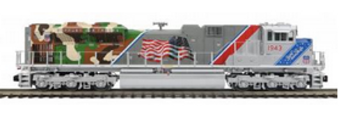 MTH Premier UP 1943 (veterans) SD70ACe, 3 rail, P3.0