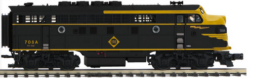 MTH Premier  Erie  F-3A  diesel, pwd , proto 3.0, DCC, 2 rail