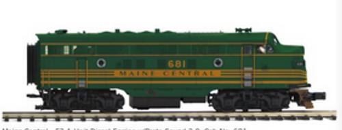 MTH Premier  Maine Central F-3A-B   diesels, 3 rail,  pwr/non-pwr