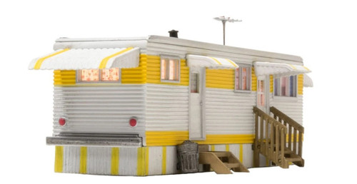 Woodland Scenics O gauge Sunny Days Trailer..super detailed