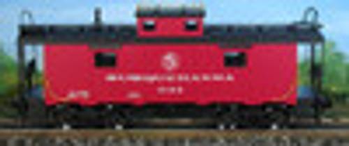 Atlas O NYS&W NE-6 caboose (silver lettering), 2 rail