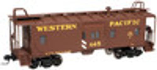 Atlas O WP (tuscan/yellow)  Bay window caboose,  3 rail or 2 rail