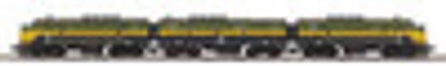 MTH Premier C&NW F-3 A-B-A, deisel, 2 rail, w/sound, smoke