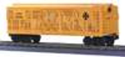 MTH Rail King Santa Fe Stock Car (red) , 3 rail