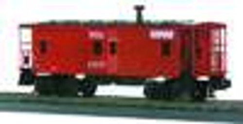 MTH Rail King Norfolk Southern Bay Window Caboose , 3 rail