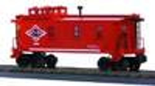 MTH Rail King Texas & Pacific woodsided Caboose , 3 rail