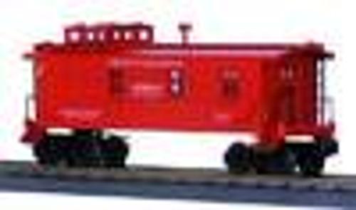 MTH Rail King PRR Woodsided Caboose , 3 rail