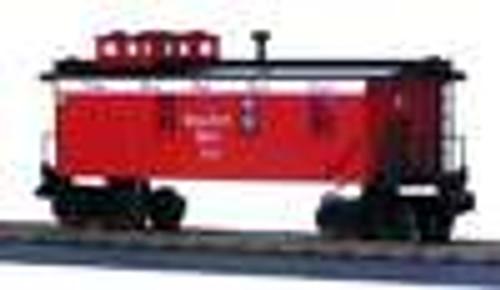 MTH Rail King Nickel Plate Road Woodsided Caboose , 3 rail