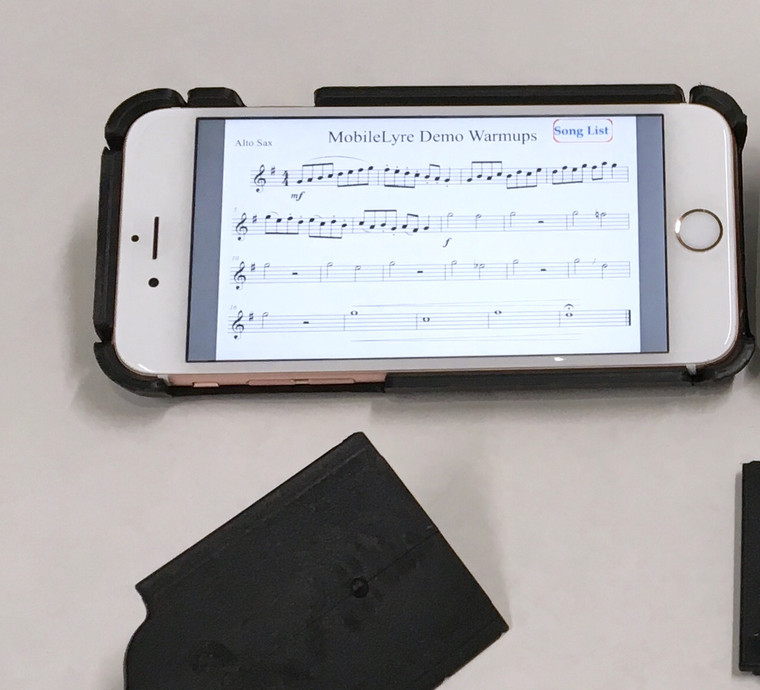 MobileLyre iPhone 8/7/6S/6 -Case Only