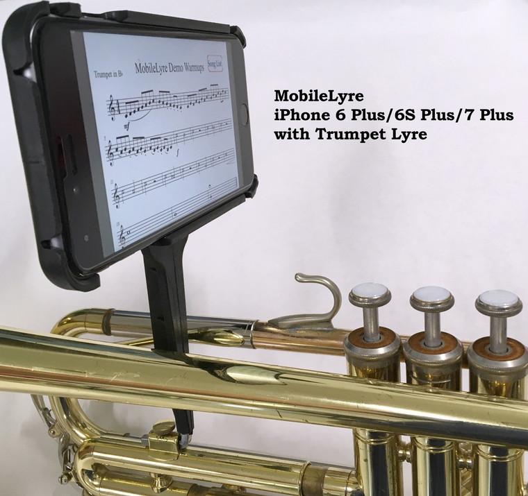 MobileLyre Trumpet Lyre (Lyre Only)