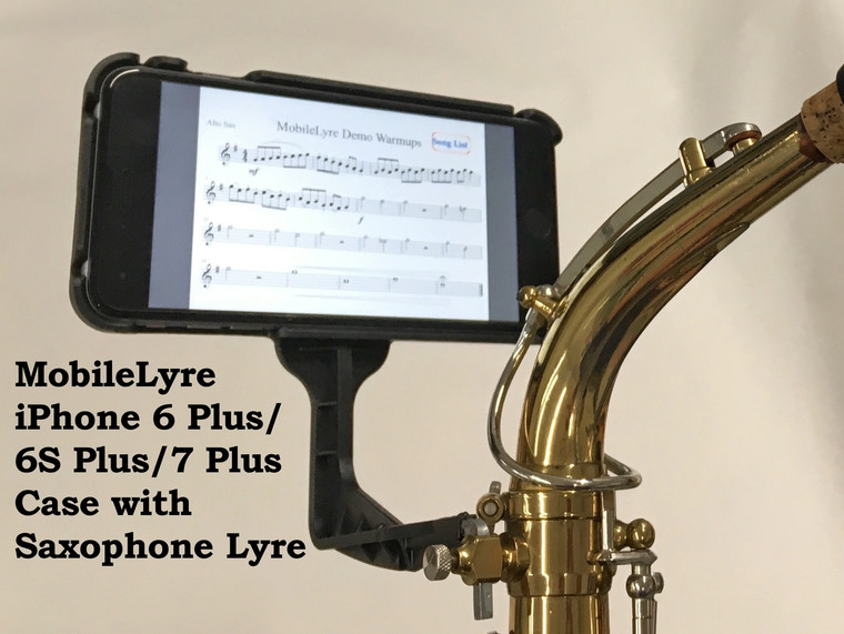 MobileLyre Saxophone Lyre (Lyre Only)