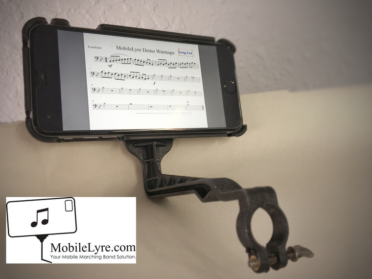 MobileLyre Small Bore Trombone Lyre (Lyre Only)