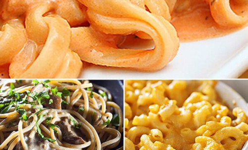 Vegan Eats Alfredo and Cheeze Sauce Sampler - 6 pack-Fresh, healthy, delicious, ready-made vegan meals shipped to you