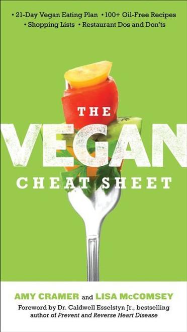 Vegan Eats Vegan Cheat Sheet Book-Fresh, healthy, delicious, ready-made vegan meals shipped to you