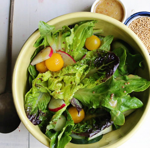 Vegan Eats Maple Mustard Vinaigrette-Fresh, healthy, delicious, ready-made vegan meals shipped to you