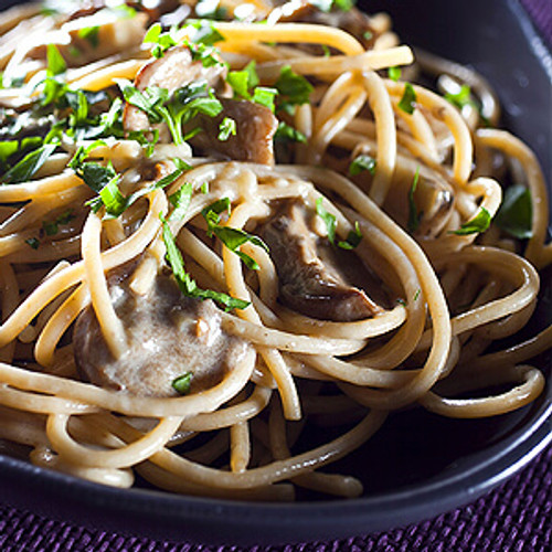 Vegan Eats Alfredo Sauce with Mushrooms & Port - 6 pack -Fresh, healthy, delicious, ready-made vegan meals shipped to you