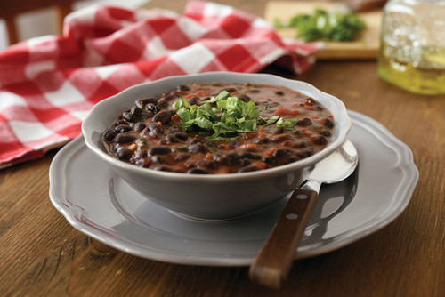 Vegan Eats Adobe Black Bean Stew Over Brown Rice - 6 pack-Fresh, healthy, delicious, ready-made vegan meals shipped to you