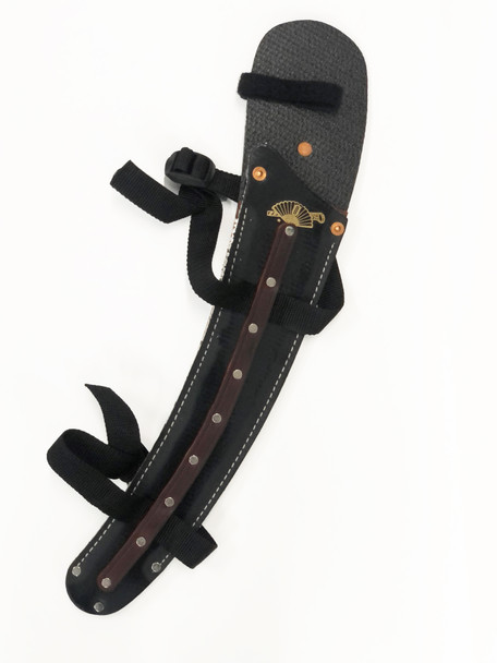 Rubberized Belted Saw Scabbard for FI-1311 w/ Leg Straps