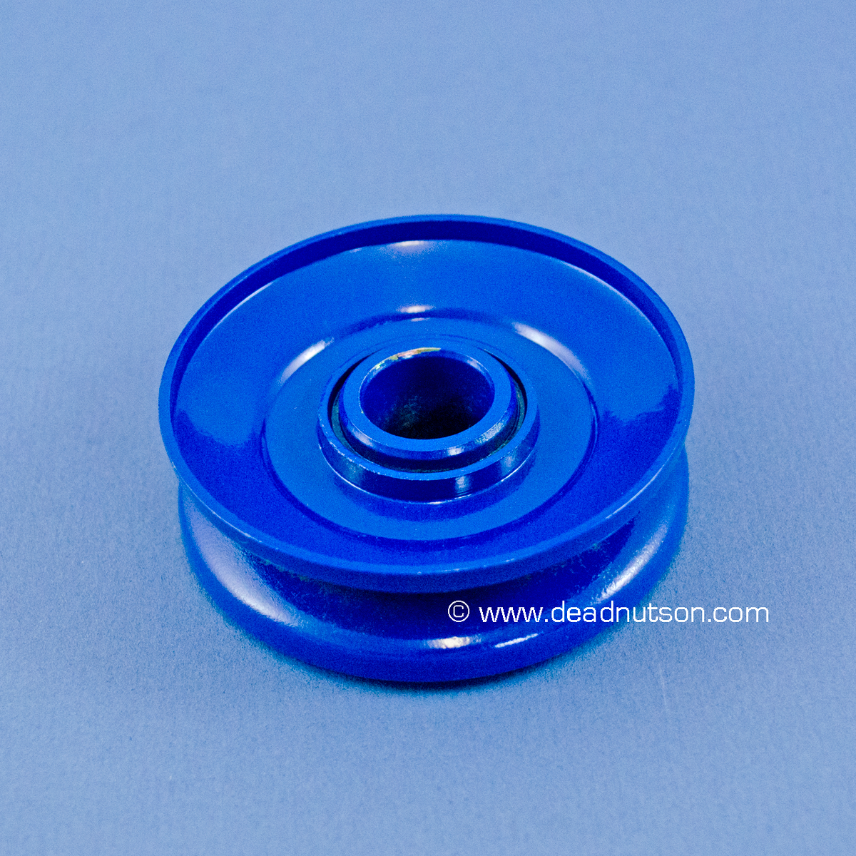 1965 66 single sheave alternator pulley ford corporate blue