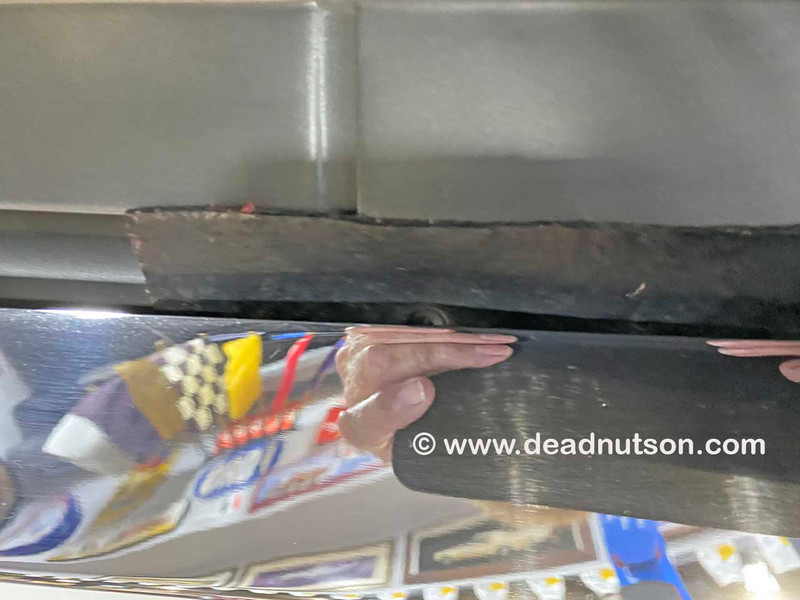 1969-70 Shelby Front Bumper Rubber Shields