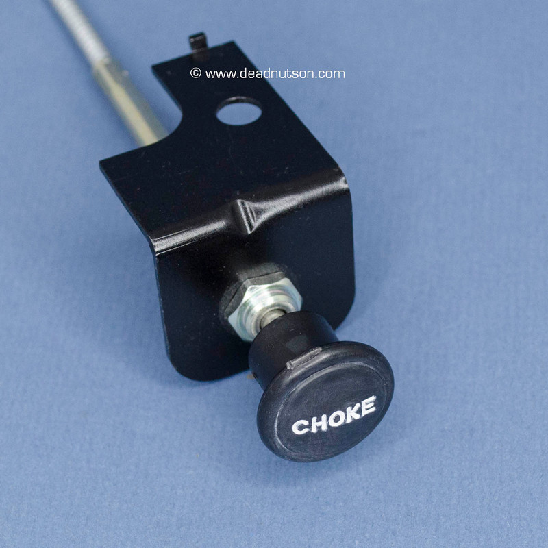 Manual Choke Cable Assembly