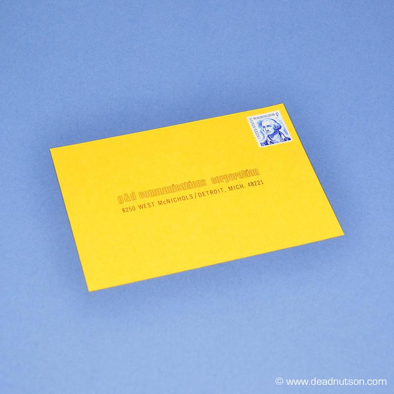 Boss 429 Owner Survey Postcard | Vintage Stamp