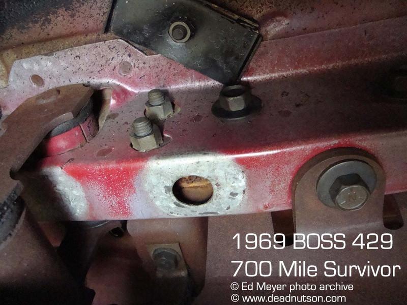 BOSS 429 Battery Tray Braces
