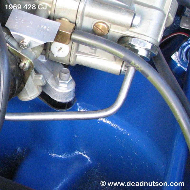 1965-73 Carburetor Mounting Nuts V8