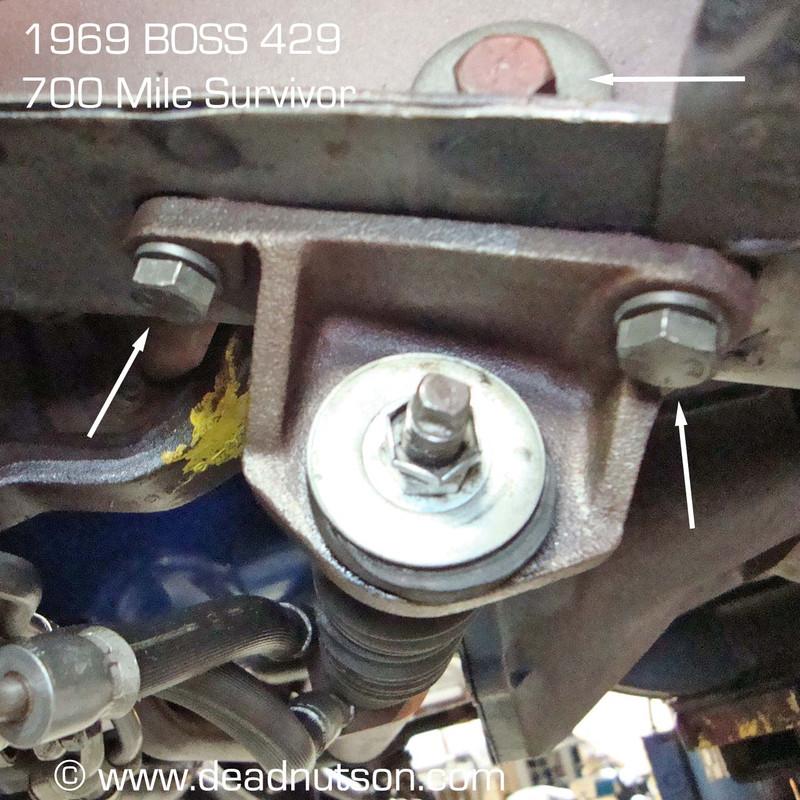 1969-70 Power Steering Cylinder Ram Bracket > Body Hardware