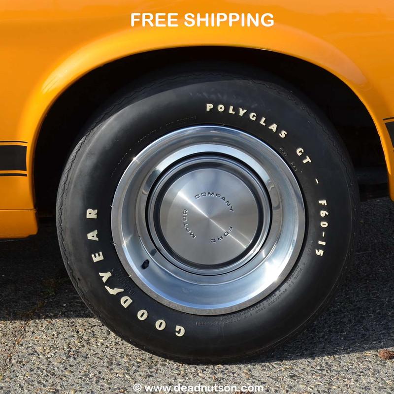 1970 BOSS 302 Goodyear Polyglas F60/15 Tire