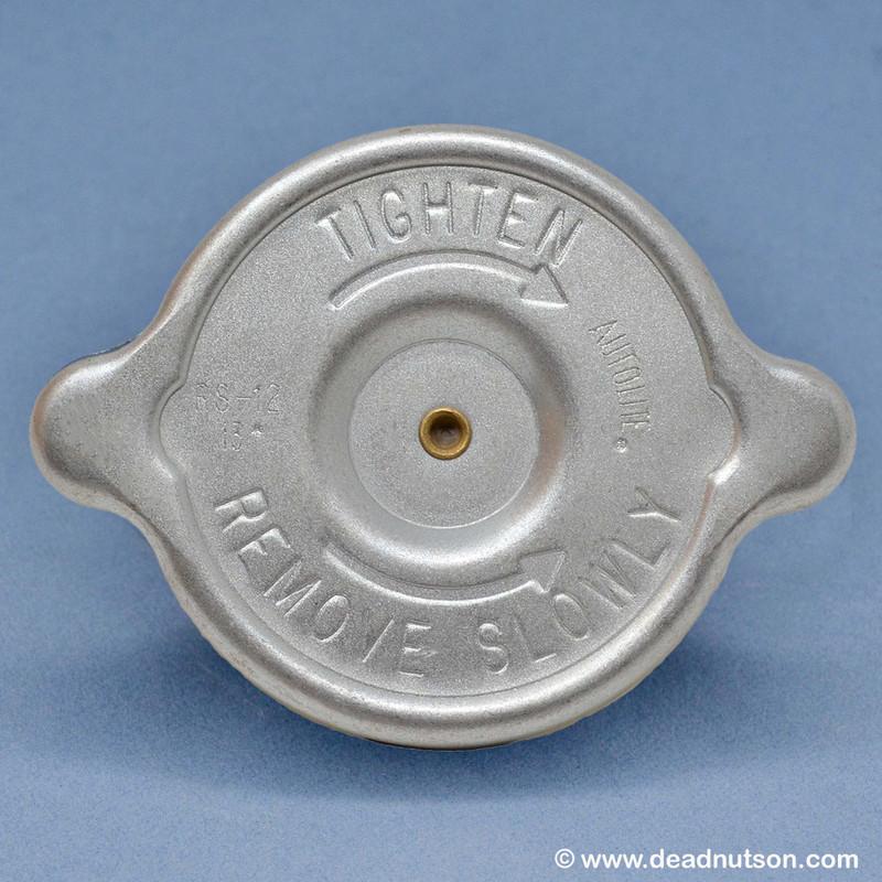 1969-70 Autolite Radiator Cap | Dearborn Plant