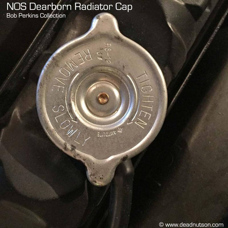 1969-70 Autolite Radiator Cap   Dearborn Plant