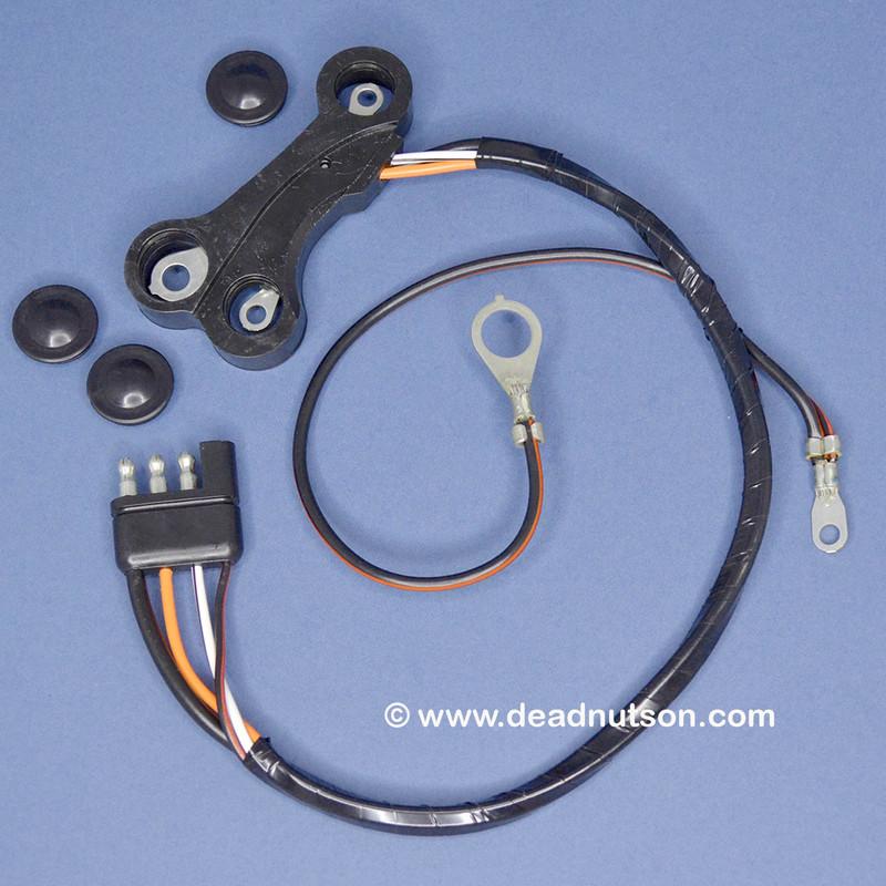 1969 Alternator Wire Harness + Ground   Tach Dash