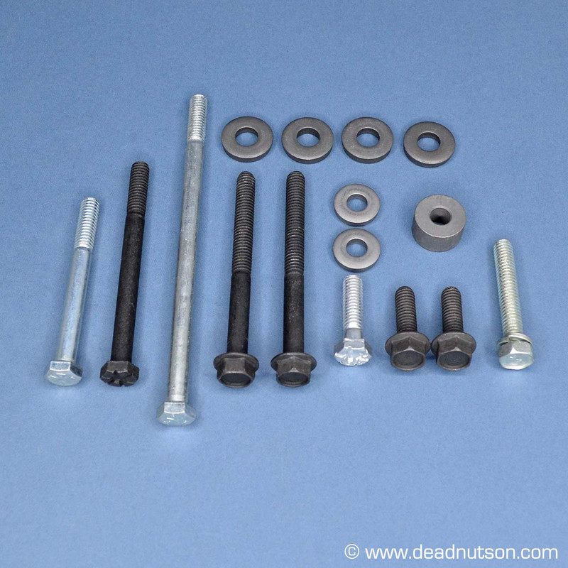 1965 Ford 289 Aluminum Water Pump Hardware Kit + Air Conditioning