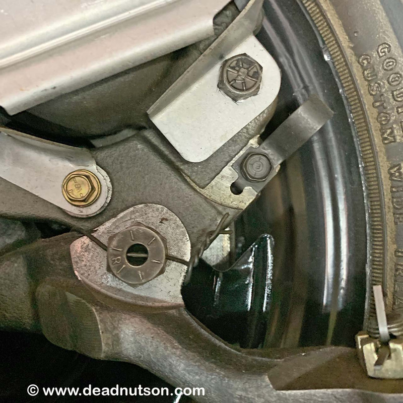 1967-70 Disc Brake Spindle Safety Wire