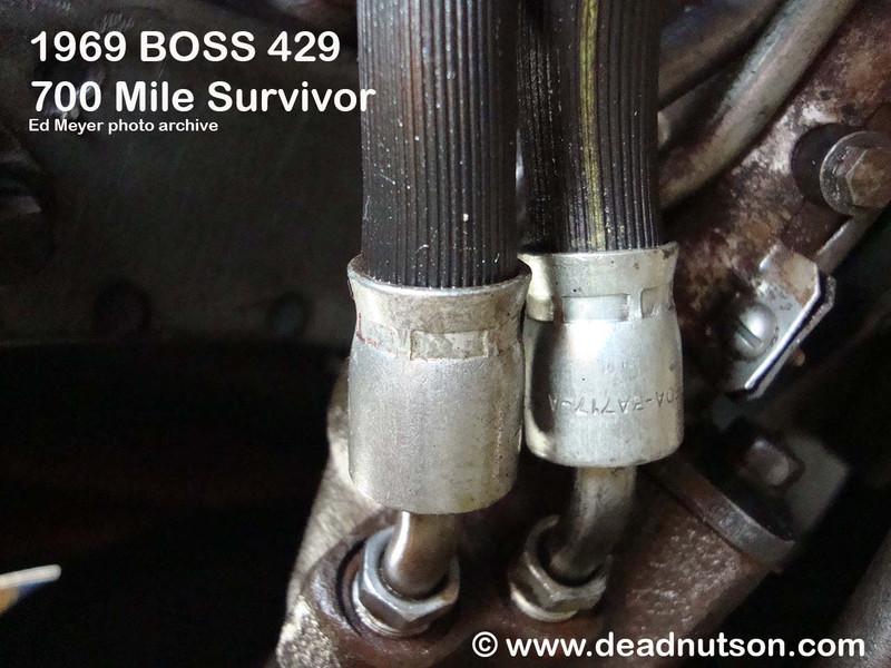 1967-69 Power Steering Hose Ram > Valve Body | C6OA-3A714-A