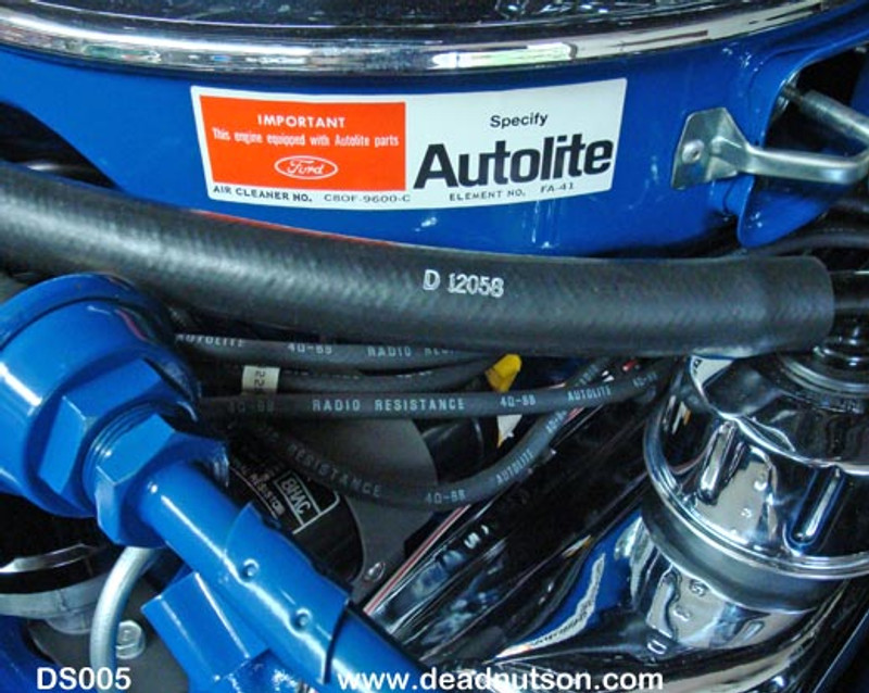 Autolite Air Cleaner Decal