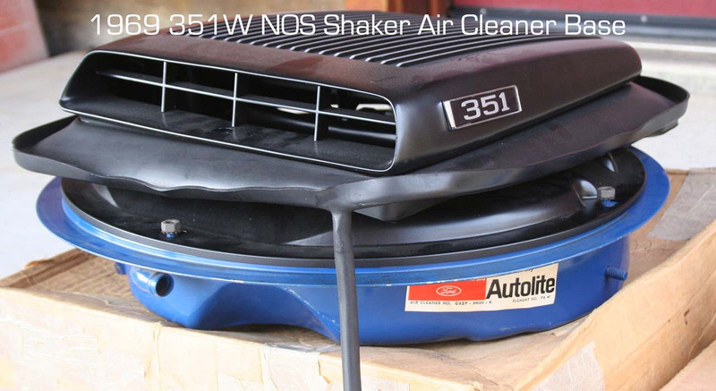 1969 NOS 351W Shaker Air Cleaner