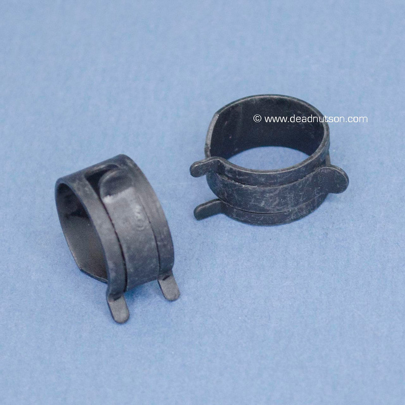 Brake Booster Hose Spring Clamps (2)