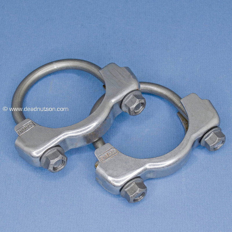 "2.25"" Exhaust H-Pipe Clamps"