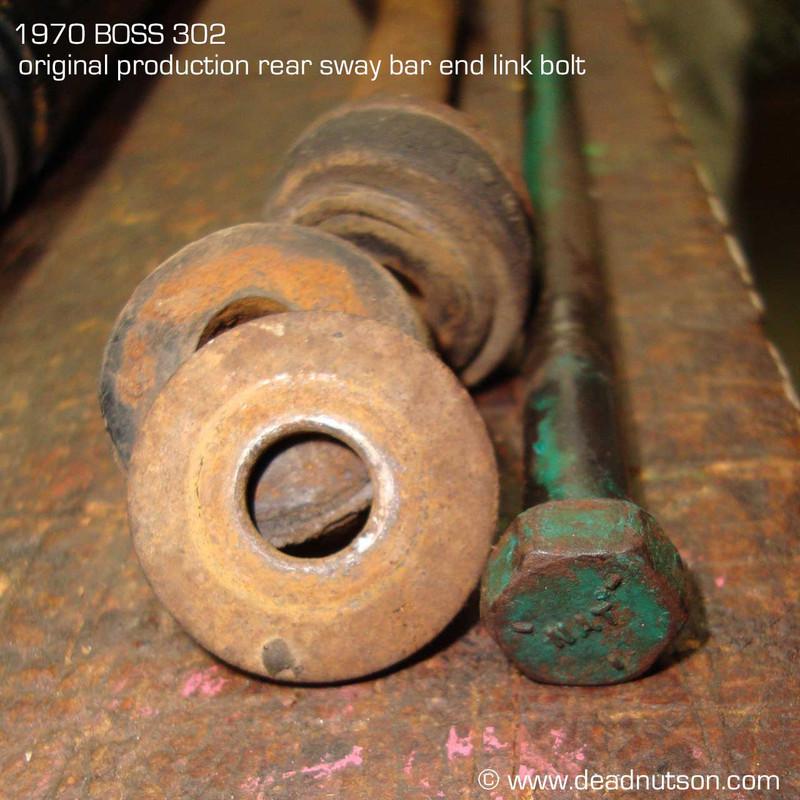 Rear Sway Bar End Link Kit