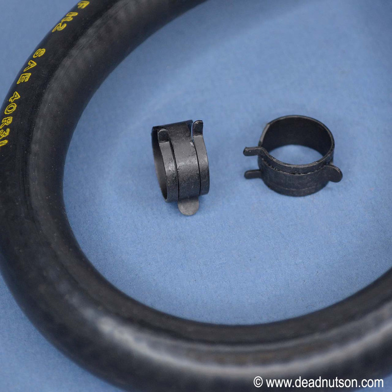 BOSS 429 Brake Booster Hose w/clamps