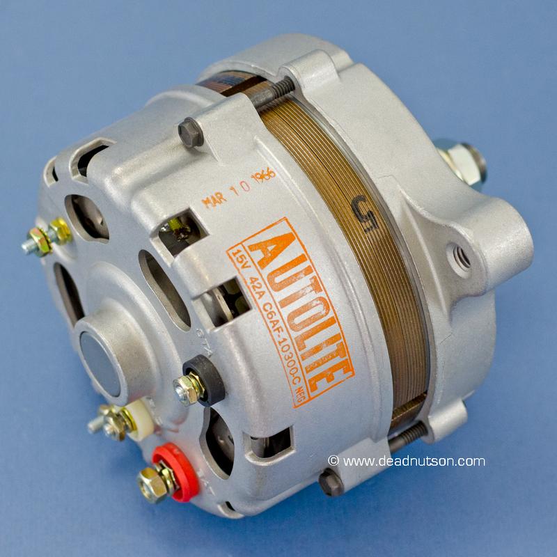 1966 289 +AC -PS Autolite Alternator C6AF-10300-C