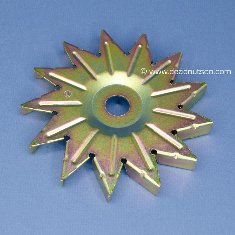 13 Blade Alternator Cooling Fan (Late 1966 thru 11/17/69)