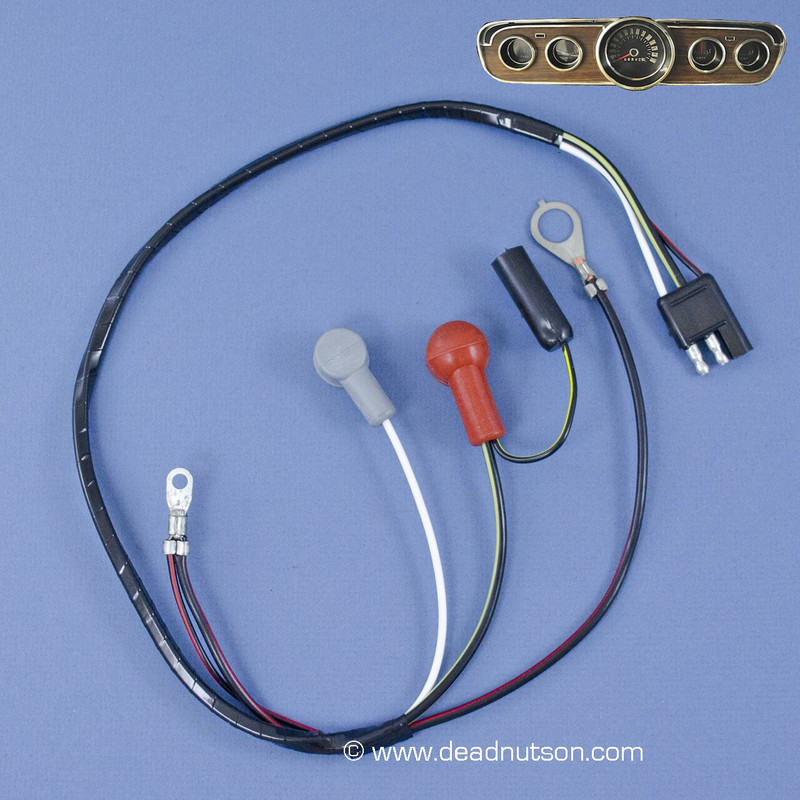 1965 Alternator Wire Harness 6-Cyl (with gauges)