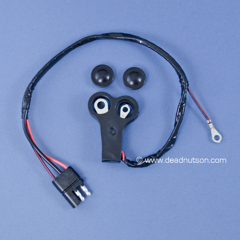 1969 Alternator Wire Harness (without tach)