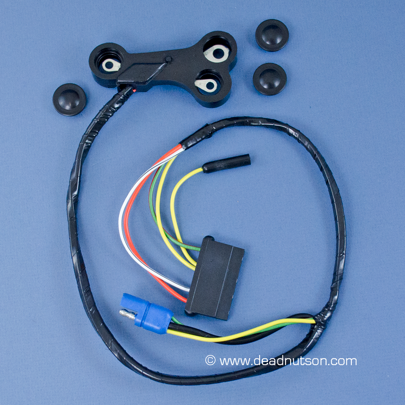 1970 Alternator Wire Harness (with tach)